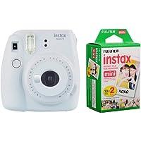 Fujifilm instax Mini 9 +20'li Film+Askı (Dumanlı beyaz)