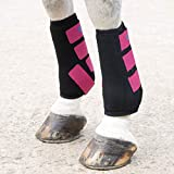 Shires ARMA Breathable Sports Exercise Boots Extra Full Size Raspberry