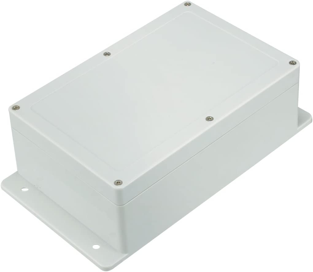 100 x 68 x 50mm Electronic Plastic DIY Junction Box Enclosure Case Gray