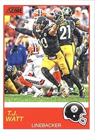 Amazon Com 2019 Score 117 T J Watt Pittsburgh Steelers