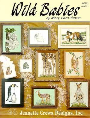 Wild Babies Cross Stitch Pattern