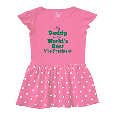 d9f6ab2af Amazon.com: My Daddy is The World's Best Vice President Taped Neck ...