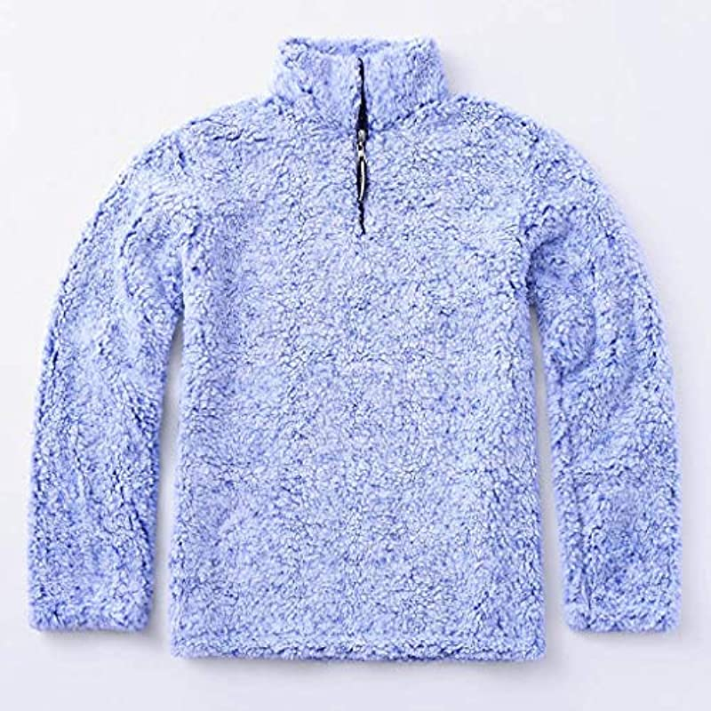 Sweter męski z długim rękawem, bluza drewniana męska z zamkiem błyskawicznym kołnierz zima ciepłe bluzki flauszowy polar luźny Jumper topy,: Odzież