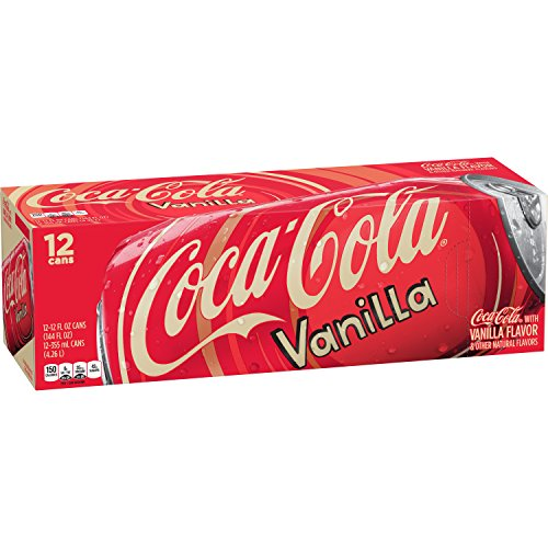 Coca Cola Vanilla Drink Fluid Ounce