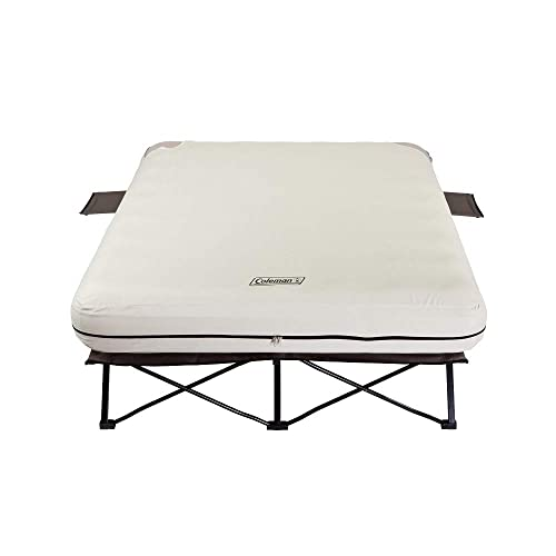 Coleman Camping Cot, Air Mattress, and Pump Combo
