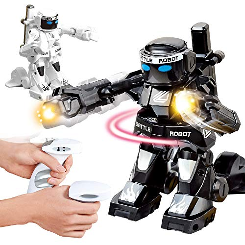 Orcbee  _2Pcs RC Battle Boxing Robot/Toys, Remote Control 2.4G Humanoid Fighting Robot
