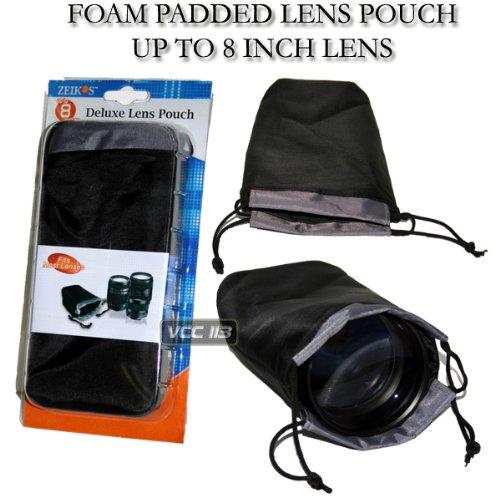 Zeikos ZE-LP8 8-Inch Lens Pouch