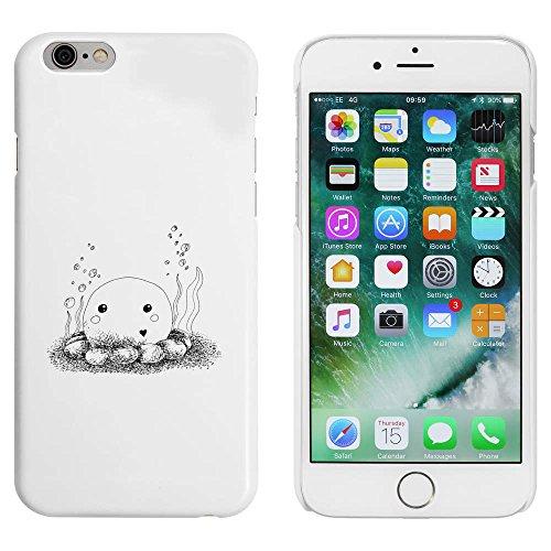 Weiß 'Tintenfisch' Hülle für iPhone 6 u. 6s (MC00038878)