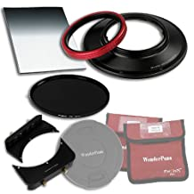 Fotodiox WPFA-CA14-Esntl6SE WonderPana 66 FreeArc Essentials ND 0.6SE Kit for Canon 14mm Super Wide Angle EF F/2.8L II USM Lens, Full Frame 35mm (Black)