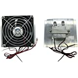 Bhbuy DIY Electronic Semiconductor Refrigerator Thermoelectric Peltier Cooler Fan Water Cooling Device (1 Fan)