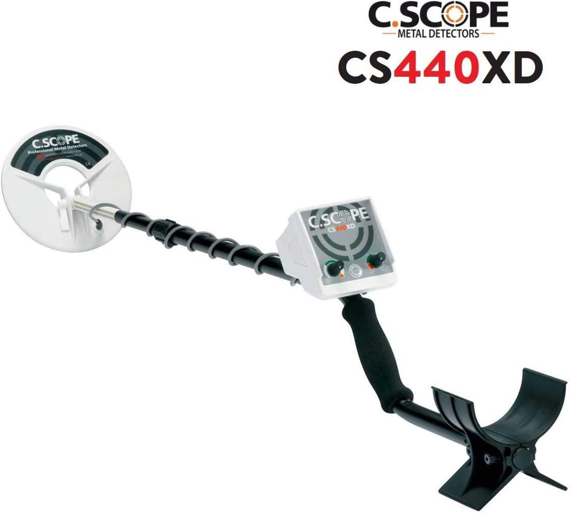 C.Scope C-Scope CS440XD - Detector de metales, color dorado: Amazon.es: Deportes y aire libre