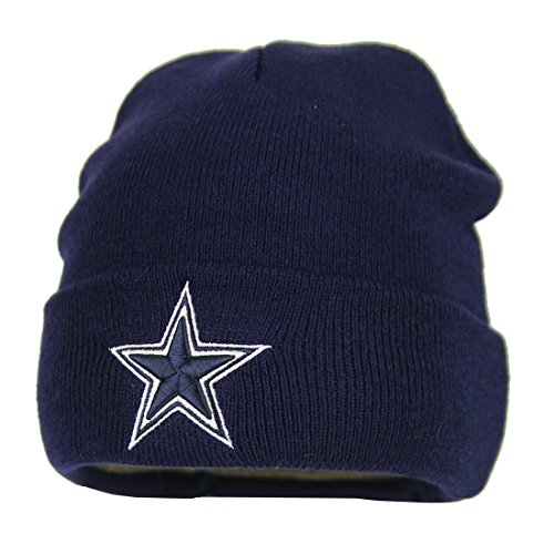 Dallas Cowboys Basic Knit Hat (Navy)