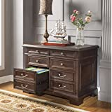 Prestige Executive Wood Lateral File - Walnut Finish