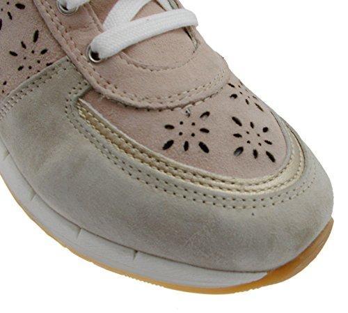 Loren C3795 Woman Shoe Orthopedic sneacker Laces Beige Powder 39 GAcg6