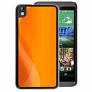 A-type Arte & diseño plástico duro Fundas Cover Cubre Hard Case Cover para HTC DESIRE 816 (Orange Play Console Logo Sun Summer)
