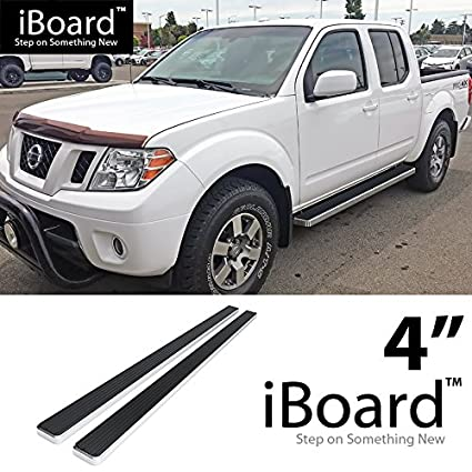 Attractive Off Roader EBoard Running Boards Silver 4u0026quot; Fit 2005 2018 Nissan  Frontier Crew Cab