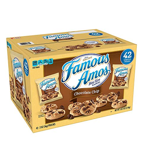 Famous Amos Chocolate Chip Cookies (2 oz., 42 ct.) -