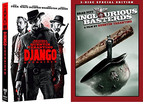 Quentin Tarantino Double Feature - Inglorious Basterds (2-Disc Special Edition) & Django Unchained 2-Movie BUndle (Quentin Tarantino No Country For Old Men)
