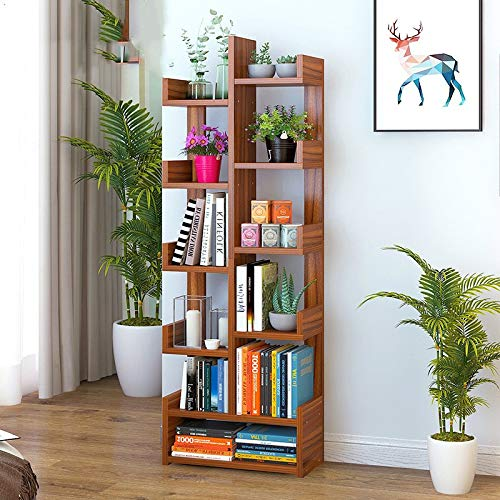 M 47x22x149cm(19x9x59) Bookshelf,Creative Floor Bookcases,Modern Simple Small Bookcase,Simple Bookcase,Multi-Purpose Student Bookshelf-D 47x22x92cm(19x9x36)