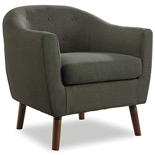 Homelegance Fabric Barrel Chair, Sage Gray from Homelegance