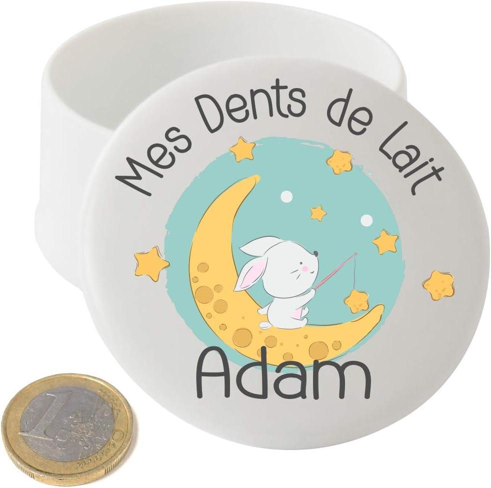 cadeau /à offrir /à une Fille ou gar/çon Grande Boite /à Dents de Lait en bois Fabrication fran/çaise Personnalis/ée avec le pr/énom de lenfant Texte personnalisable Dents de la petite souris