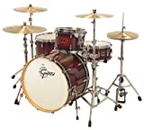 Gretsch 3pc Renown Maple Shell Pack - Ruby Sparkle Fade