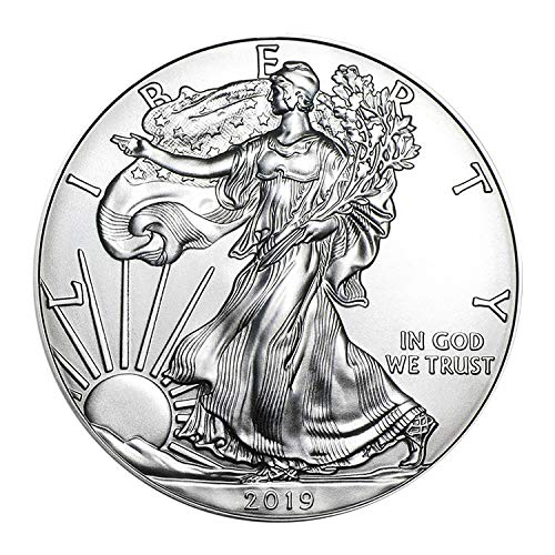 2019 American Silver Eagle $1 Brilliant Uncirculated ()