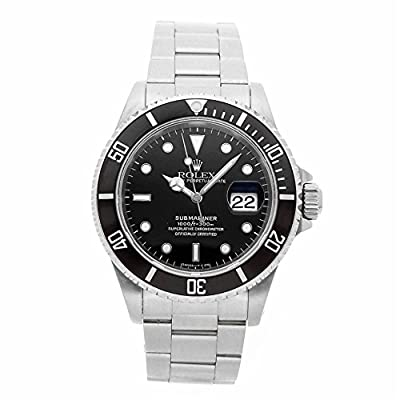 Rolex Submariner Automatic-self-Wind Male Watch 16610 (Certified Pre-Owned) from Rolex