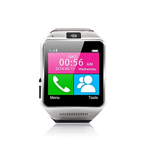 "MOOSTAR Smart Watch Reloj Inteligente Bluetooth Pulsera 1.54"" Pantalla Completa Táctil Con 1.3M Cámara"