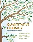 Quantitative Literacy 2nd Edition