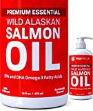 SALMON OIL FOR DOGS, CATS & HORSES, Fish Oil Omega...