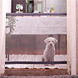 zhangwei Pet Isolation Fence Net Portable Folding Pet Gate Mesh