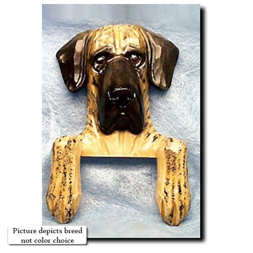 Michael Park Fawn Natural Great Dane Door Topper