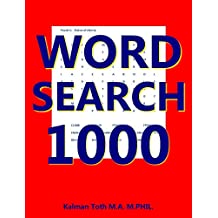 Word Search 1000: Find  9 Words In A 8x8 Matrix