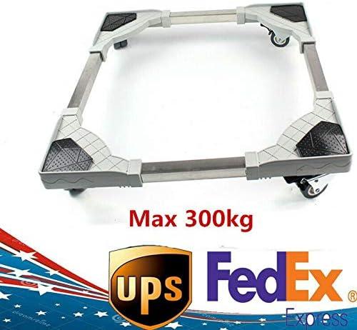 Base Bracket Stand Wheel Movable Adjust For Washing Machine Refrigerator HOT