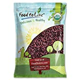 Organic Dark Red Kidney Beans by Food to Live (Non-GMO, Kosher, Raw, Dry Seeds, Bulk) — 5 pounds