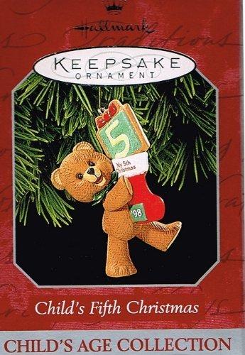 Hallmark Ornament Child's Fifth Christmas ()