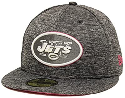 New Era 59Fifty NFL16 BCA New York Jets Gray Fitted Cap