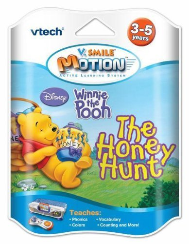 VTech V-Motion Smartridge: Winnie the Pooh Smile Baby Learning System Cartridge