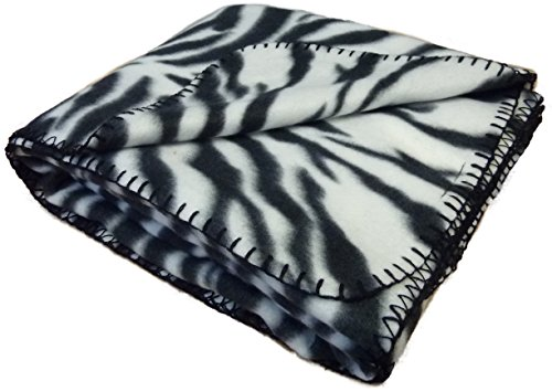 Zebra Print Fleece - 4