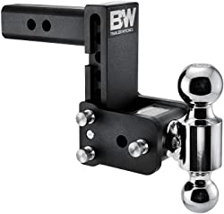 B&W Tow & Stow adjustable mount ball Dual Ball 10,000 GTW