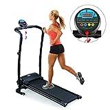 Belovedkai Folding Electric Treadmill, Fitness Running Machine, Black (Black 1)