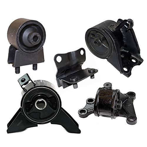 K2141 Fits 2000 Mazda 626 2.0L AUTO Engine Motor & Trans Mount Full Set 5pcs : A6480, A4401, A6405, A6463, A6440