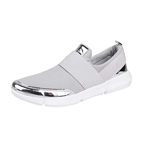 Zapatos Casuales de Mujer Calzado holgazán Malla lLigero Cómodo Elegante Entrenadores con Zapatillas Deportivas Zapatos Sneakers Zapatillas Mujer Deportivo ...