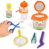 Liberty Imports Little Backyard Explorer Outdoor Toy Insect Adventure Set   Bug Catcher Viewing Collection Kit (7 Pieces)