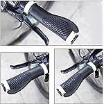 JINGYOUDAMAI-Impugnature-per-BiciclettaManopole-Manubrio-BiciclettaBike-Hand-GripsGomma-Ergonomica-Antiscivolo-ManopoleManopola-MTB-per-BiciclettaManiglia-per-Bicicletta