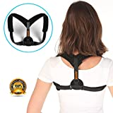 Nicestar Back Posture Corrector Clavicle Support Brace for Women & Men by Improve Posture, Prevent Slouching and Upper Back Pain Relief