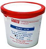 Soldering Flux Griffith Boric Acid Granules 7 oz.