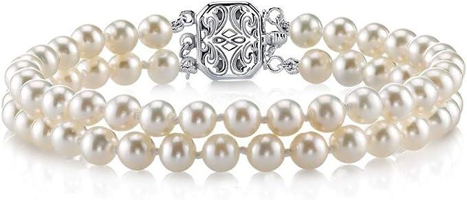 Bonyak Jewelry 18 Inch Rhodium Plated Necklace w// 4mm Purple February Birth Month Stone Beads and Saint Dominic Savio Charm