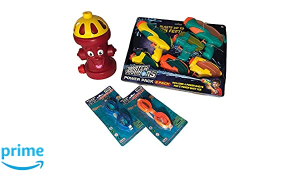 Amazon.com: Water Guns for Kids, 6 Pack for Kids with Fire ...